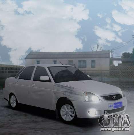 VAZ 2170 Priorik pour GTA San Andreas vue arrière