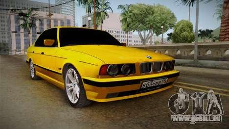 BMW 5-er E34 pour GTA San Andreas vue de droite
