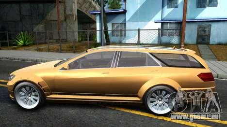 GTA V Benefactor Schafter Wagon pour GTA San Andreas laissé vue