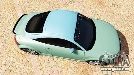 GTA 5 Audi TT (8N) 2004 v1.1 [add-on] Rückansicht