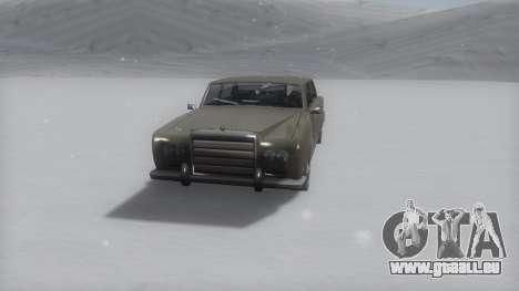 Stafford Winter IVF pour GTA San Andreas sur la vue arrière gauche