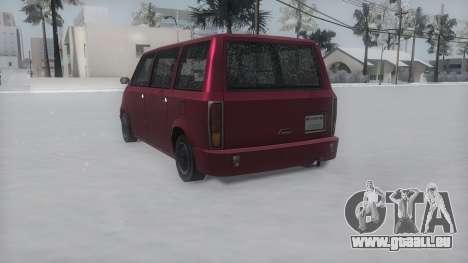 Moonbeam Winter IVF pour GTA San Andreas laissé vue