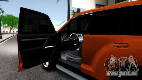 Toyota Land Cruiser Prado pour GTA San Andreas vue arrière