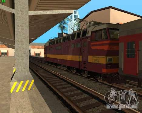 Passenger locomotive CHS4t-521 pour GTA San Andreas vue de côté