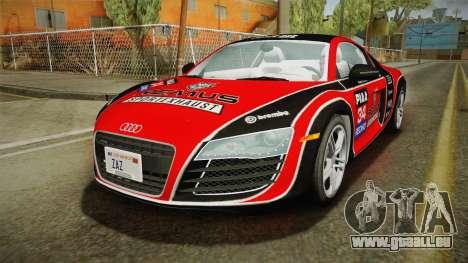 Audi R8 Coupe 4.2 FSI quattro US-Spec v1.0.0 v4 für GTA San Andreas Motor