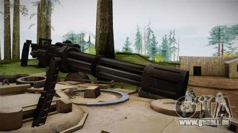 Abrams Tank für GTA San Andreas Rückansicht