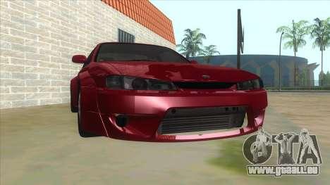 Nissan Silvia S14 Tuned pour GTA San Andreas vue arrière