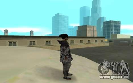 The Ballas 4 pour GTA San Andreas deuxième écran