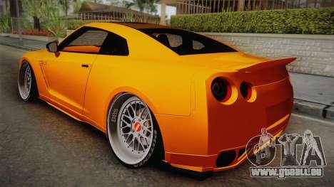 Nissan GT-R R35 2015 für GTA San Andreas linke Ansicht