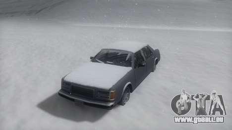 Washington Winter IVF pour GTA San Andreas