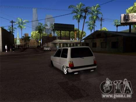 OKA - Dodge 2016 pour GTA San Andreas sur la vue arrière gauche