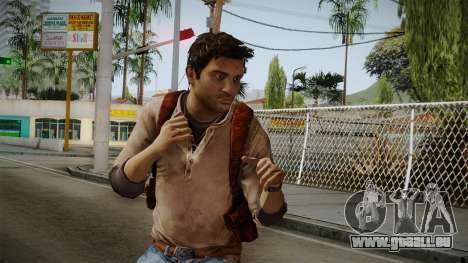 Uncharted Golden Abyss - Nathan Drake für GTA San Andreas