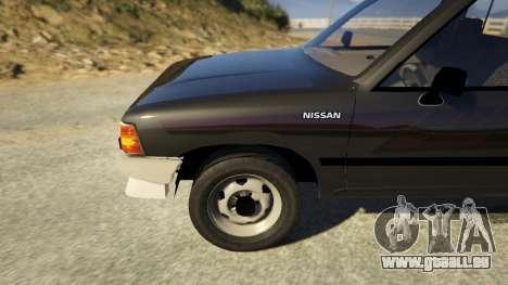 GTA 5 Nissan Datsun 1985 hinten rechts