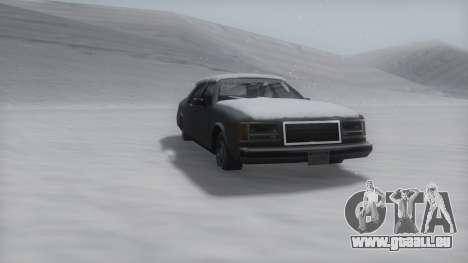 Washington Winter IVF pour GTA San Andreas laissé vue
