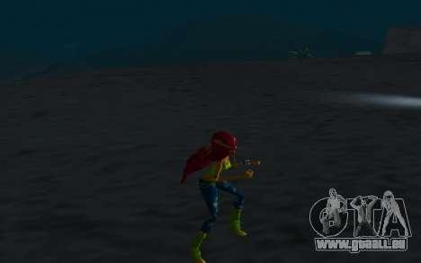Aisha Rock Outfit from Winx Club Rockstars pour GTA San Andreas quatrième écran