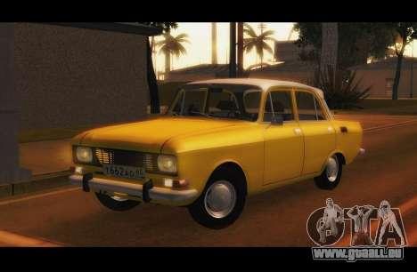Moskwitsch 2140 GVR v1 für GTA San Andreas
