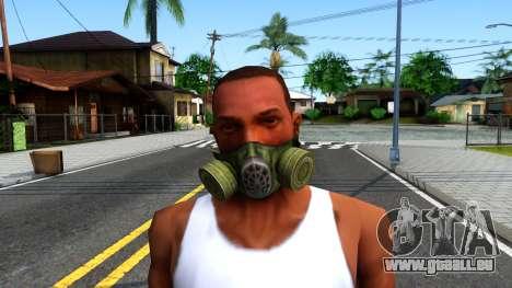 Gas Mask From S.T.A.L.K.E.R. Clear Sky für GTA San Andreas dritten Screenshot