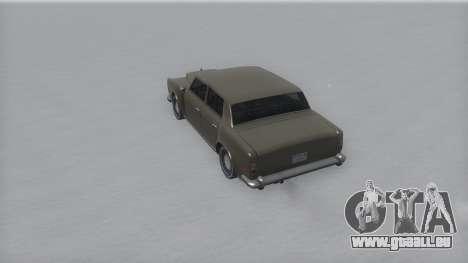 Stafford Winter IVF für GTA San Andreas rechten Ansicht