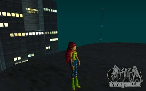 Aisha Rock Outfit from Winx Club Rockstars für GTA San Andreas