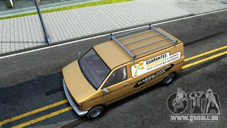 GTA V Declasse Burrito Commercial pour GTA San Andreas vue arrière