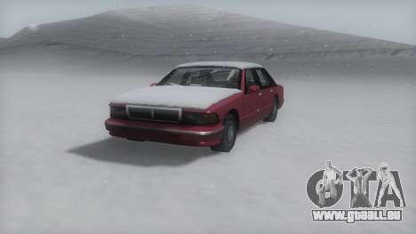 Premier Winter IVF für GTA San Andreas
