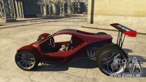 GTA 5 Raptor Car v2 linke Seitenansicht