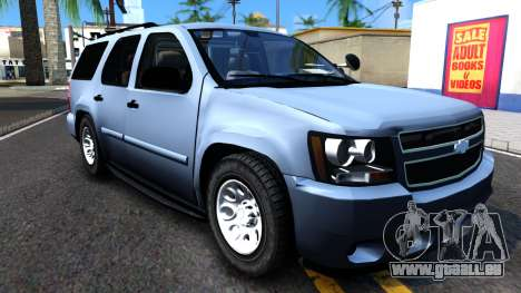 Chevy Tahoe Metro Police Unmarked 2012 pour GTA San Andreas