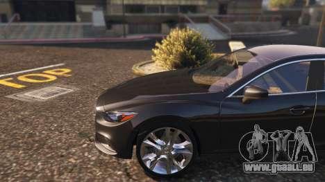 GTA 5 Mazda 6 2016 arrière droit vue de côté