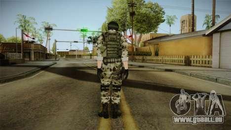 Resident Evil ORC Spec Ops v5 für GTA San Andreas dritten Screenshot
