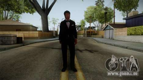 Dead Rising 3 - Nick in a Tuxedo für GTA San Andreas zweiten Screenshot
