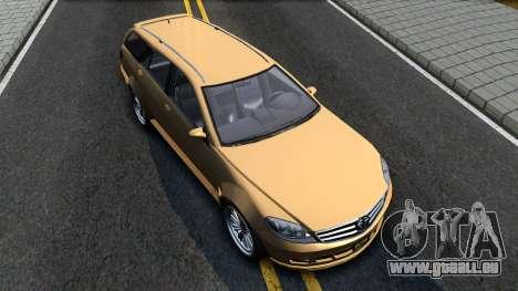 GTA V Benefactor Schafter Wagon pour GTA San Andreas vue de droite