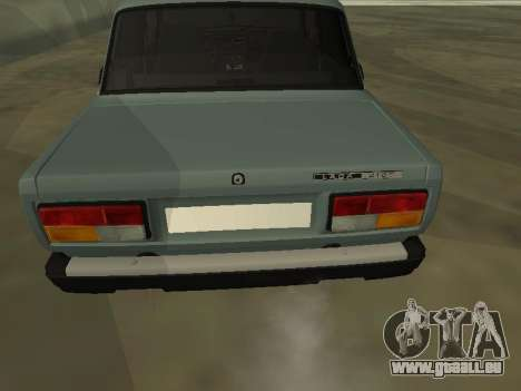 2107 für GTA San Andreas Innenansicht