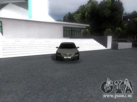 Toyota Camry pour GTA San Andreas laissé vue
