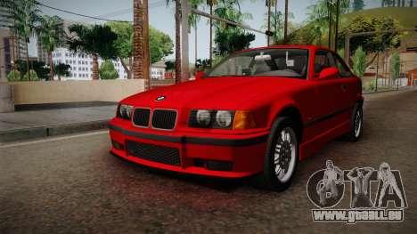 BMW 328i E36 Coupe für GTA San Andreas rechten Ansicht