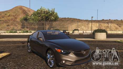 GTA 5 Mazda 6 2016 vue arrière