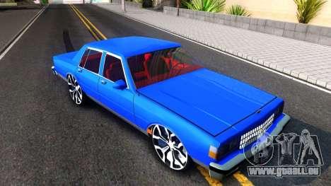 Chevrolet Caprice 1987 Tuning für GTA San Andreas