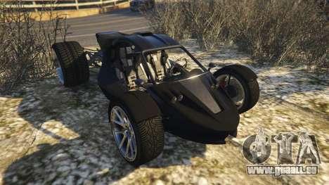 GTA 5 Raptor Car v2 Rückansicht