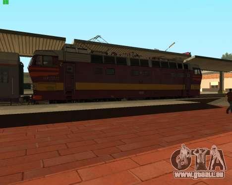Passenger locomotive CHS4t-521 pour GTA San Andreas laissé vue