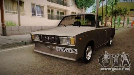 VAZ 2105 Cabrio für GTA San Andreas rechten Ansicht