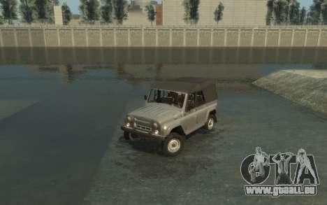 УАЗ 469 (Paul Black prod.) pour GTA 4 est un côté