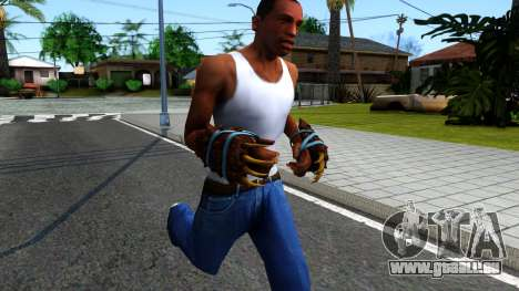 Blue Bear Claws Team Fortress 2 für GTA San Andreas zweiten Screenshot