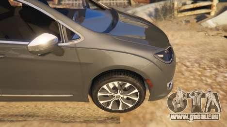 GTA 5 Chrysler Pacifica Limited 2017 rechte Seitenansicht