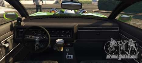 GTA 5 Vapid Crowd Runner arrière vue latérale gauche