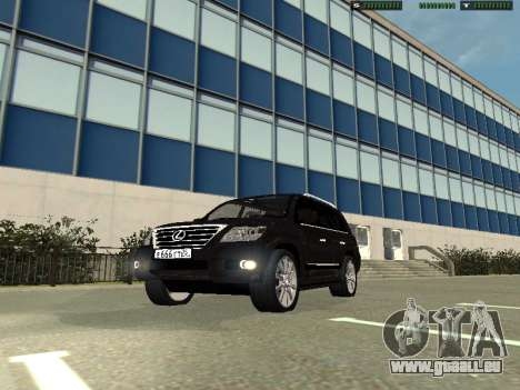 Lexus LX 570 2011 pour GTA San Andreas