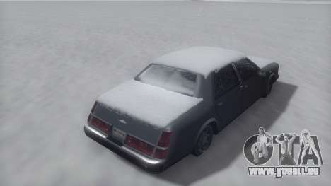 Washington Winter IVF für GTA San Andreas rechten Ansicht
