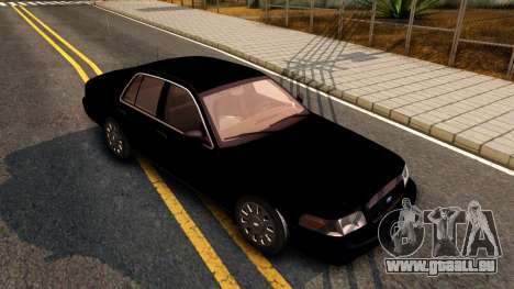 Ford Crown Victoria Detective 2008 für GTA San Andreas linke Ansicht