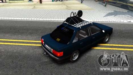 Audi 80 B3 pour GTA San Andreas vue de droite