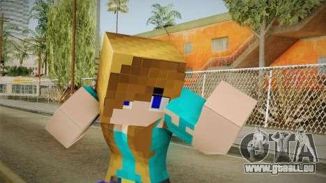 Minecraft - Stephanie für GTA San Andreas