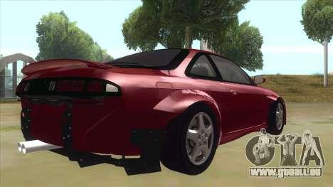 Nissan Silvia S14 Tuned pour GTA San Andreas vue de droite