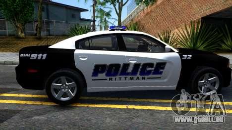 Dodge Charger Rittman Ohio Police 2013 für GTA San Andreas linke Ansicht